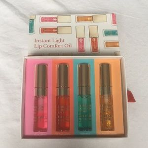 Clarins New Lip Oil Gift Set With 4 Tinted Glosses
